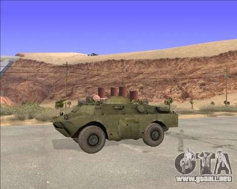 BRDM-2ЛД para GTA San Andreas left