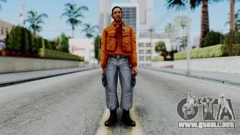 CS 1.6 Hostage 04 para GTA San Andreas segunda pantalla