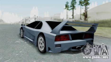 RC Turismo para GTA San Andreas left