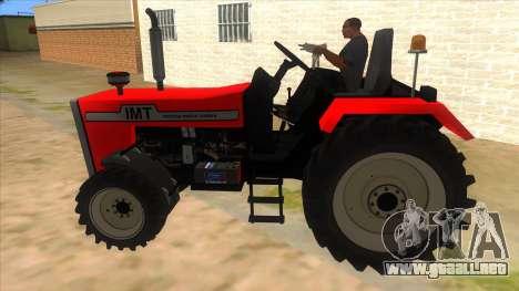 IMT Traktor para GTA San Andreas left