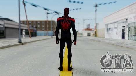 Marvel Future Fight Spider Man Miles v2 para GTA San Andreas tercera pantalla