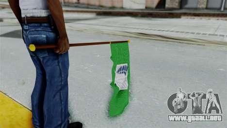 Attack On Titan Survey Crops Flag para GTA San Andreas tercera pantalla