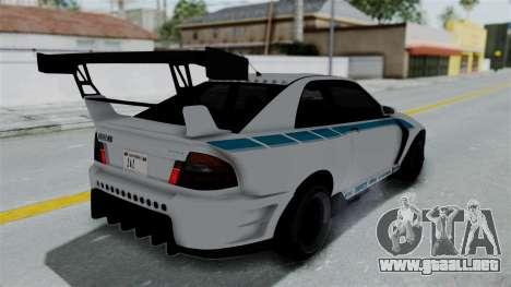 GTA 5 Karin Sultan RS Drift Double Spoiler PJ para el motor de GTA San Andreas