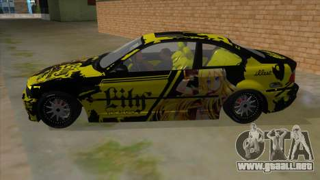 BMW M3 E46 Lily Itasha para GTA San Andreas left