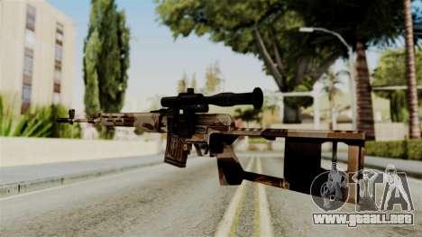 Dragunov Elite para GTA San Andreas segunda pantalla