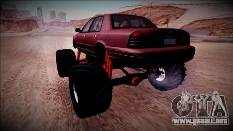 2003 Ford Crown Victoria Monster Truck para GTA San Andreas left