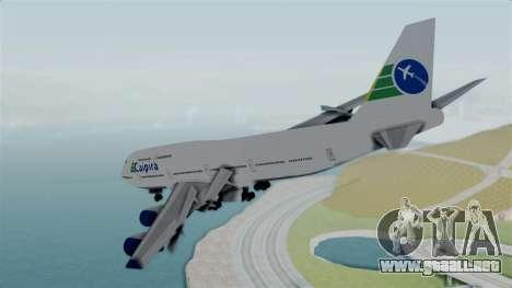 GTA 5 Jumbo Jet v1.0 Caipira Air para la visión correcta GTA San Andreas