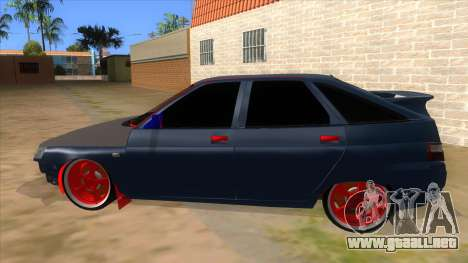 VAZ 2112 Hobo para GTA San Andreas left