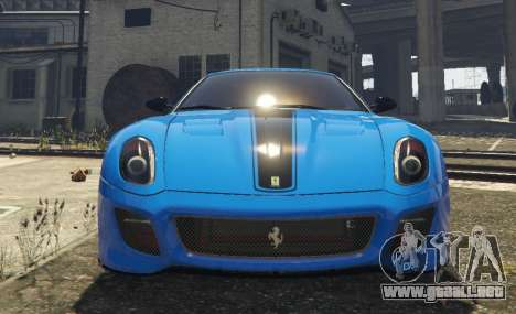GTA 5 Ferrari 599 GTO[Replace] vista trasera