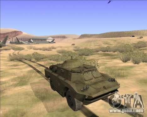 BRDM-2ЛД para la visión correcta GTA San Andreas