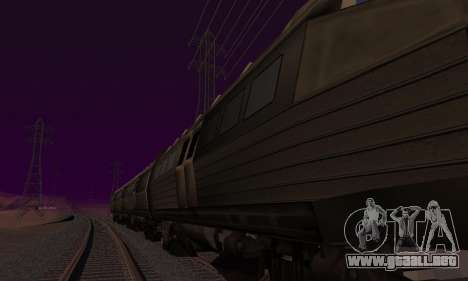 Batman Begins Monorail Train Vagon v1 para el motor de GTA San Andreas