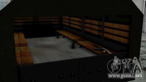 FAP Vojno Vozilo v2 para la visión correcta GTA San Andreas