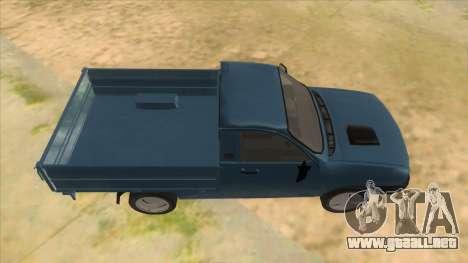 Dacia 1305 Drop-Side para visión interna GTA San Andreas