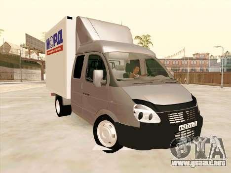 GAZ 33023 NORD para GTA San Andreas