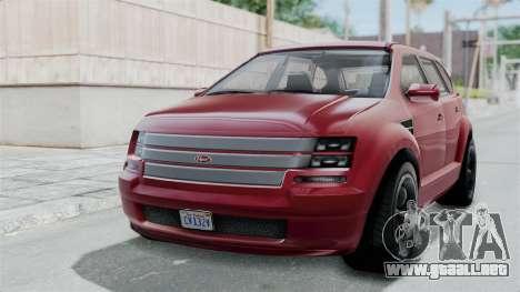 GTA 5 Vapid Radius IVF para GTA San Andreas