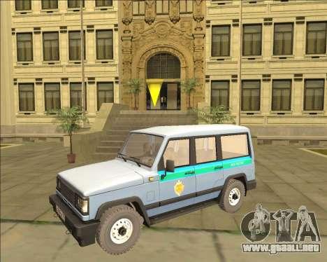 LA UAZ 3170 FSB para GTA San Andreas