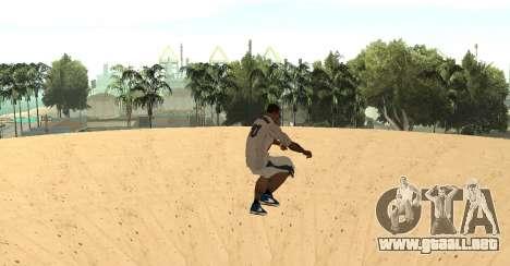 Invisibile BMX para GTA San Andreas tercera pantalla