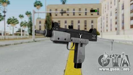 GTA 5 Micro SMG - Misterix 4 Weapons para GTA San Andreas segunda pantalla