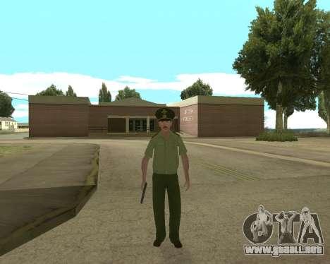 Suboficial mayor danyluk para GTA San Andreas segunda pantalla
