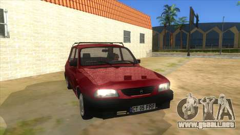 Dacia 1310L 1999 para GTA San Andreas vista hacia atrás