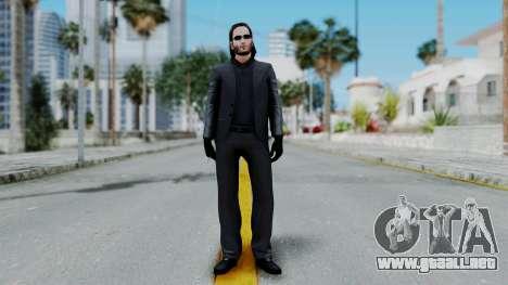 John Wich - Payday 2 para GTA San Andreas segunda pantalla