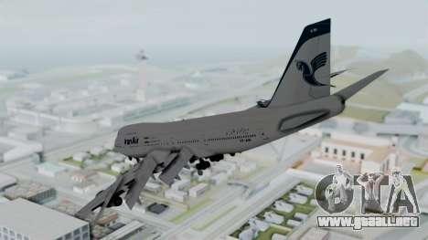 Boeing 747-186B Iran Air para GTA San Andreas left