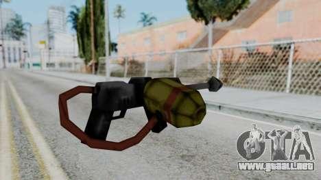 GTA 3 Flame Thrower para GTA San Andreas segunda pantalla