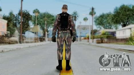 MH x Hungarian Army Skin para GTA San Andreas tercera pantalla