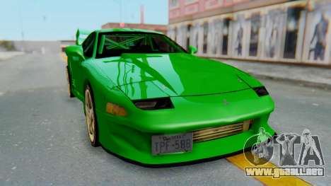 Mitsubishi GT3000 FnF para la visión correcta GTA San Andreas