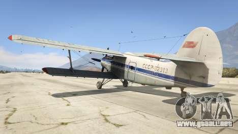 GTA 5 An-2 tercera captura de pantalla