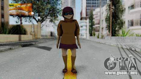 Scooby Doo Velma para GTA San Andreas segunda pantalla