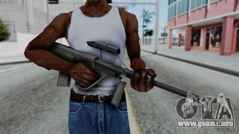 Vice City Beta Steyr Aug para GTA San Andreas tercera pantalla