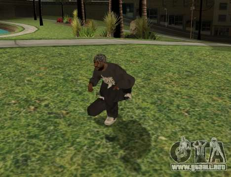 Black fam1 para GTA San Andreas tercera pantalla