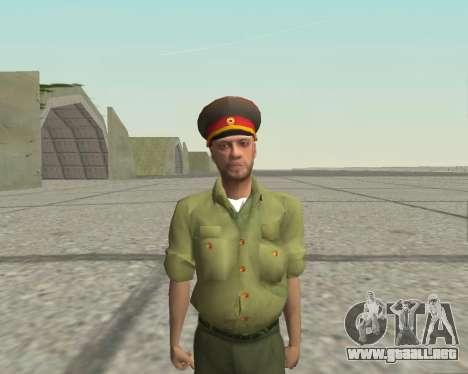Oficial de las fuerzas armadas de la Federación  para GTA San Andreas