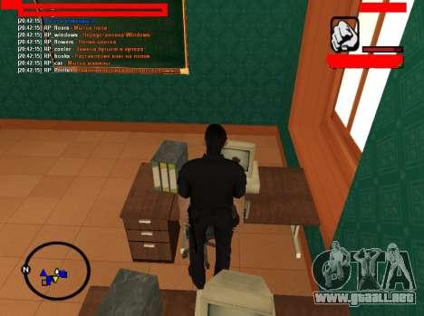 Juego de rol de puestos de trabajo para GTA San Andreas tercera pantalla