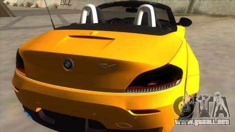 BMW Z4 Liberty Walk Performance para la visión correcta GTA San Andreas