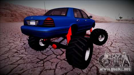 2003 Ford Crown Victoria Monster Truck para GTA San Andreas
