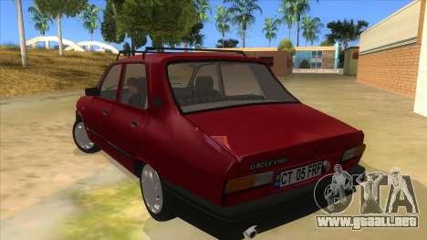 Dacia 1310L 1999 para GTA San Andreas vista posterior izquierda