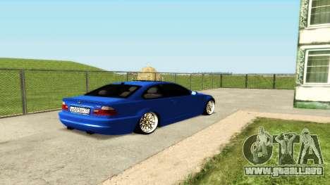BMW M3 E46 para la vista superior GTA San Andreas