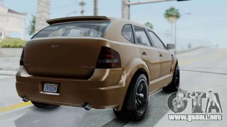 GTA 5 Vapid Radius para GTA San Andreas left