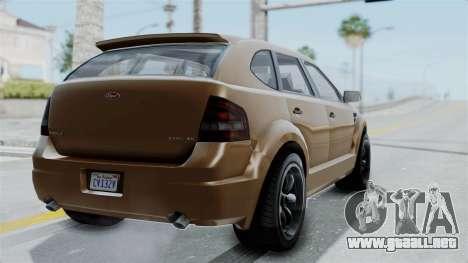 GTA 5 Vapid Radius para GTA San Andreas left