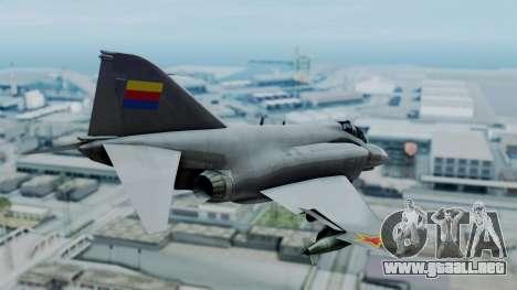 F-4E Phantom II Royal Noord-Hollandian Air Force para GTA San Andreas left