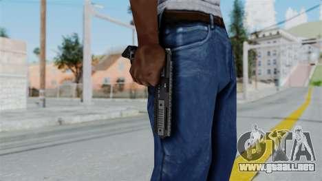 GTA 5 AP Pistol - Misterix 4 Weapons para GTA San Andreas tercera pantalla
