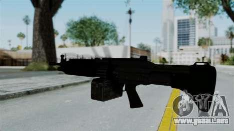 GTA 5 Combat MG para GTA San Andreas tercera pantalla
