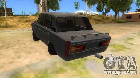 VAZ 2106 Drift Edition para GTA San Andreas vista posterior izquierda