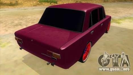 VAZ 2101 Perro para la visión correcta GTA San Andreas