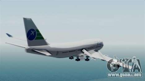 GTA 5 Jumbo Jet v1.0 Caipira Air para GTA San Andreas left