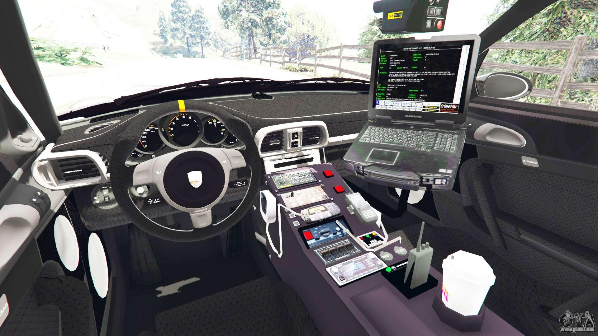 porsche 911 gt3 rs pursuit edition para gta 5. Black Bedroom Furniture Sets. Home Design Ideas