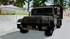 Jeep con Estacas Stylo Colombia para GTA San Andreas