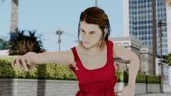 Hermione Dress para GTA San Andreas